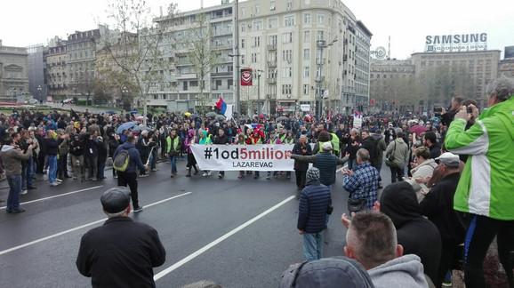 Protest opozicije