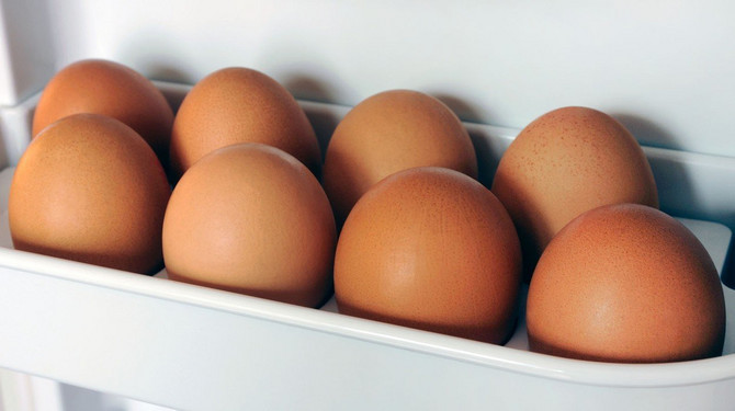 Jaja u ljusci u frižideru mogu da stoje 3 do 5 nedelja
