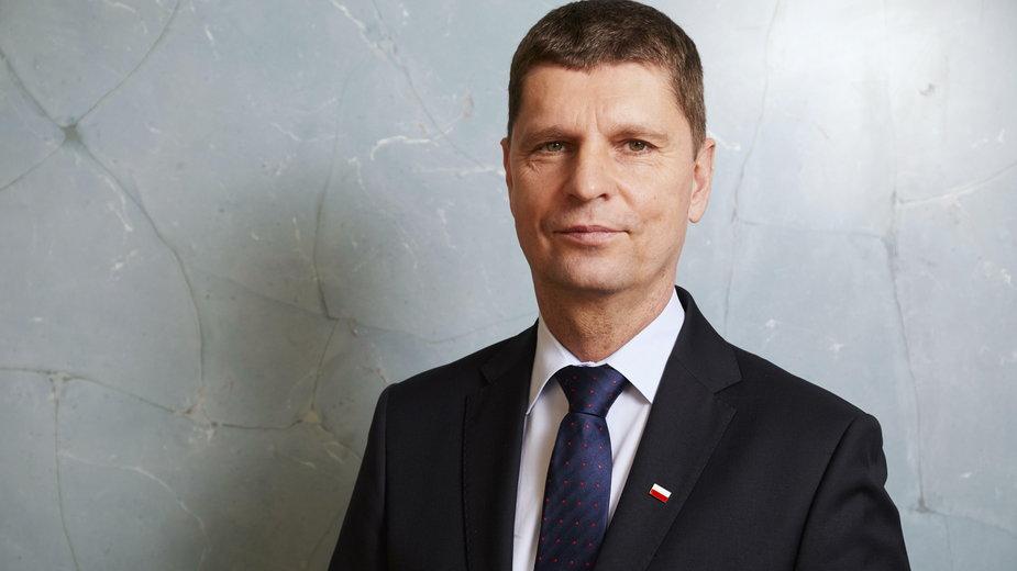 Na zdjęciu Dariusz Piontkowski