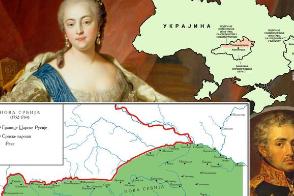 NOVA SRBIJA Da li ste znali da su Subotica, Vršac, Pančevo i mnogi drugi sprski gradovi postojali USRED DANAŠNJE UKRAJINE? (MAPA)