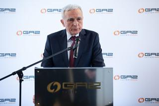 Naimski: Kontrakt na gaz z rosyjskim Gazpromem nie będzie przedłużony