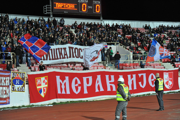 FK Partizan, FK Radnički Niš