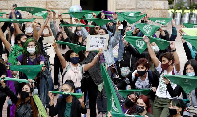 Protesti žena zbog zakona o abortusu u Bogoti u septembru