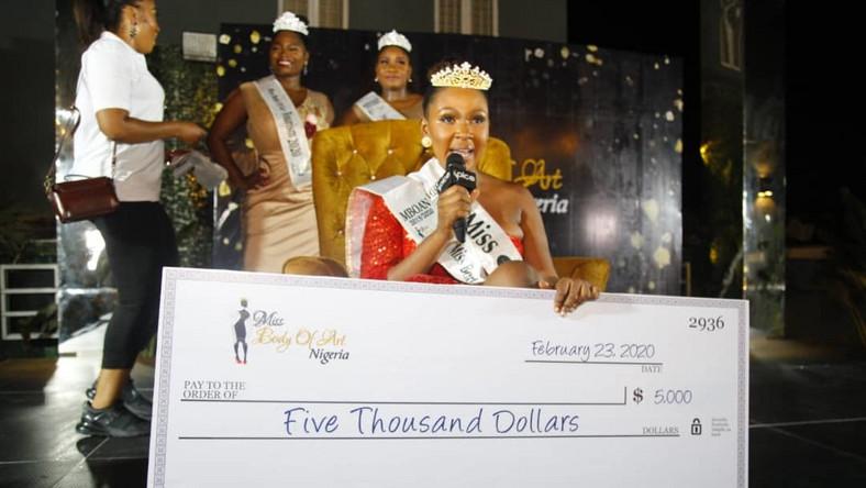 New era for curvy models in Nigeria; Miss Body Of Art Nigeria 2020