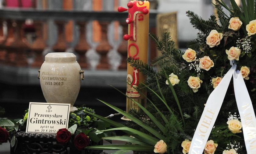 Pogrzeb Przemysława Gintrowskiego