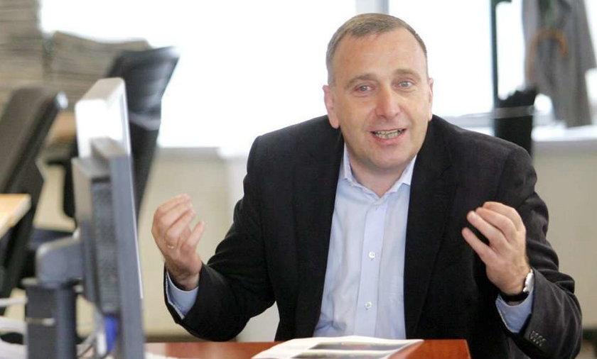Marszałek Schetyna w Fakcie. FOTY