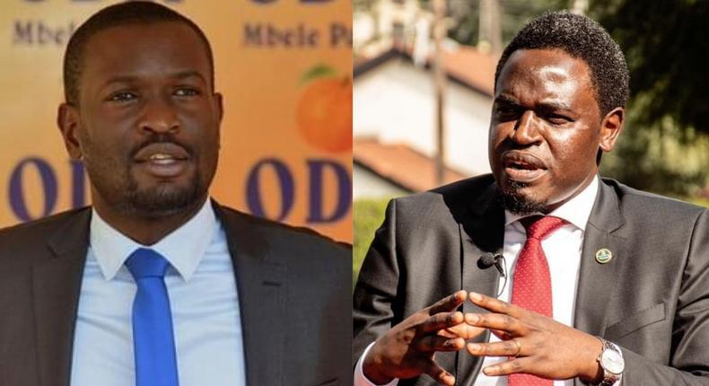 Edwin Sifuna calls out Nelson Havi after he accused him of disrupting LSK meeting