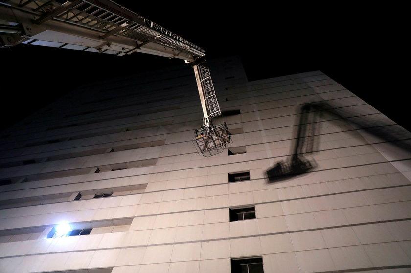 Pożar w hotelu w centrum Bangkoku