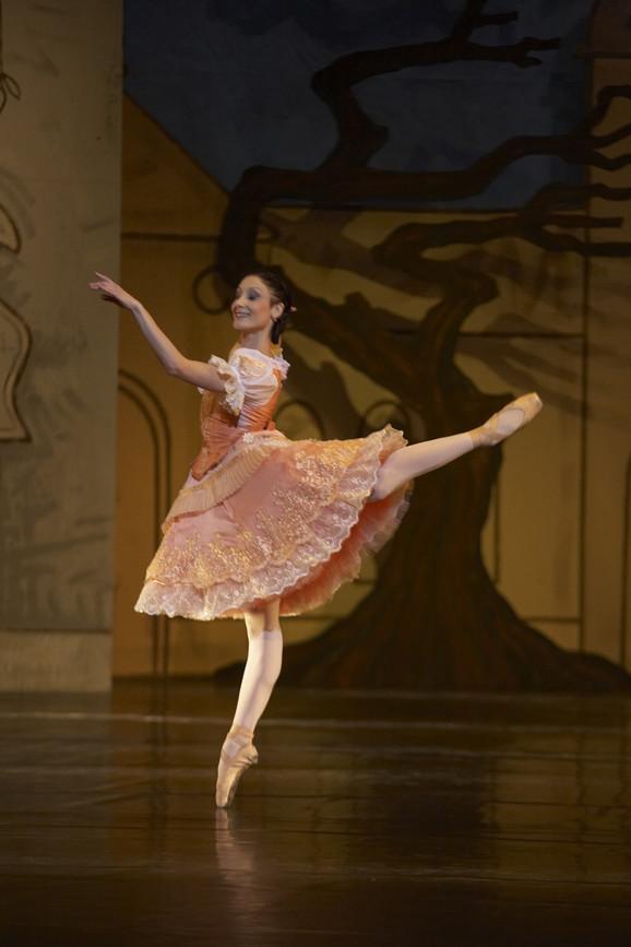Ana Pavlović: Kao Svanilda u baletu