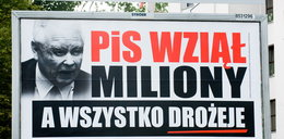 Wściekły Kaczyński na billboardach w całej Polsce!