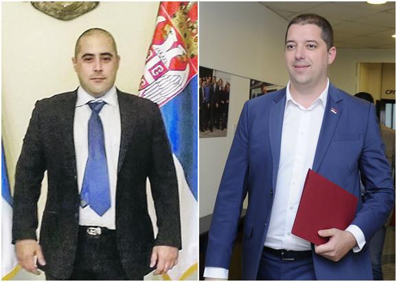 Miša Vacić i Marko Đurić
