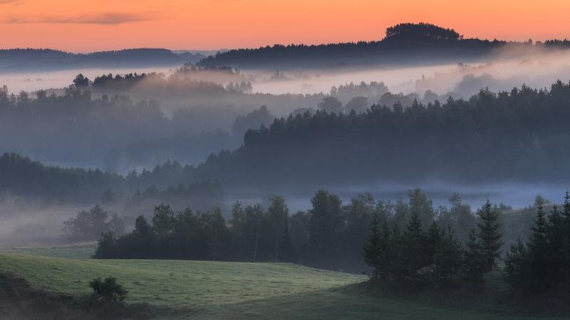 Krajobraz Suwalszczyzny