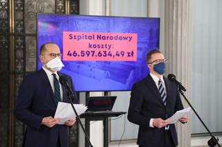 Joński i Szczerba: Niech minister Dworczyk przeprosi rodziny zmarłych, bo brakowało szpitali tymczasowych w II fali