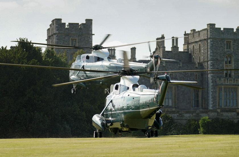 Elżbieta II lubi przyjmować pary prezydenckie na zamku na Windsorze
