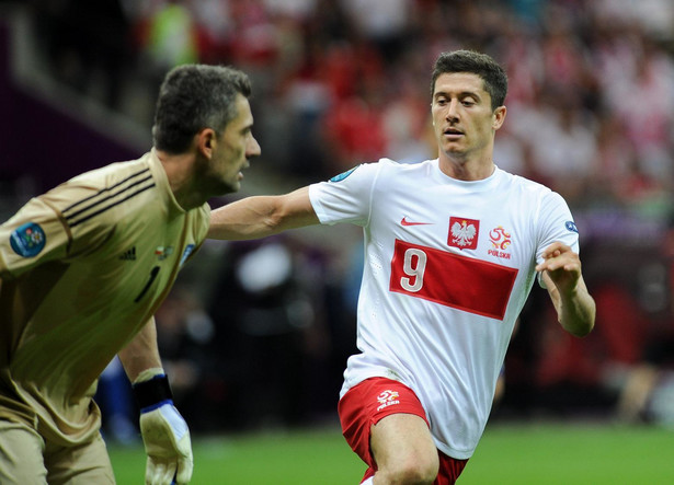Robert Lewandowski na Euro 2012