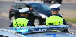 Szalał autem po rynku!Policjanci musieli bronić go przed linczem