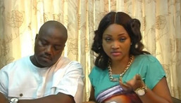 Lanre Gentry and Mercy Aigbe