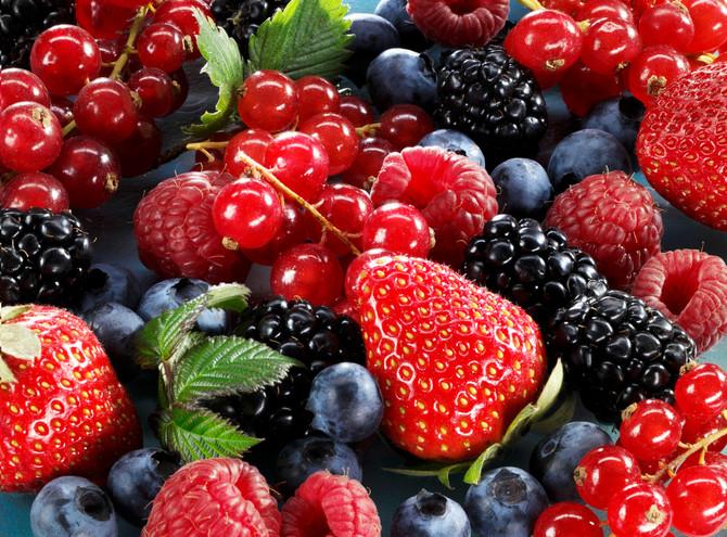 Bobičasto voće je naročito bogato flavonoidima