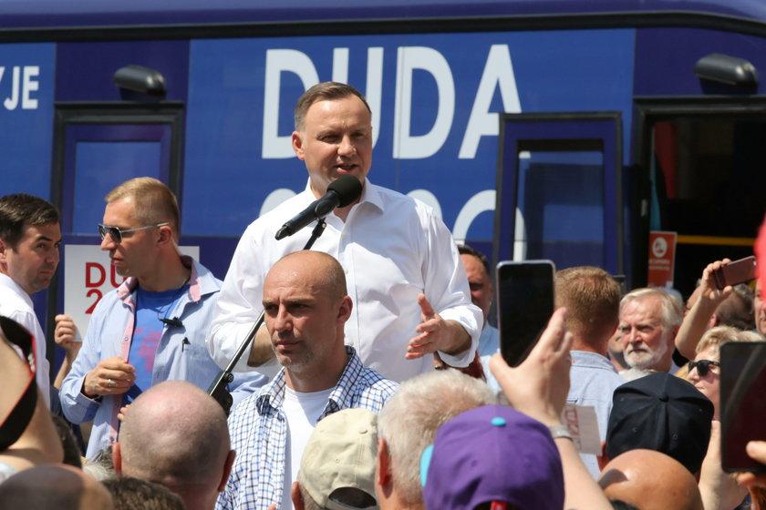Andrzej Duda ostro o LGBT