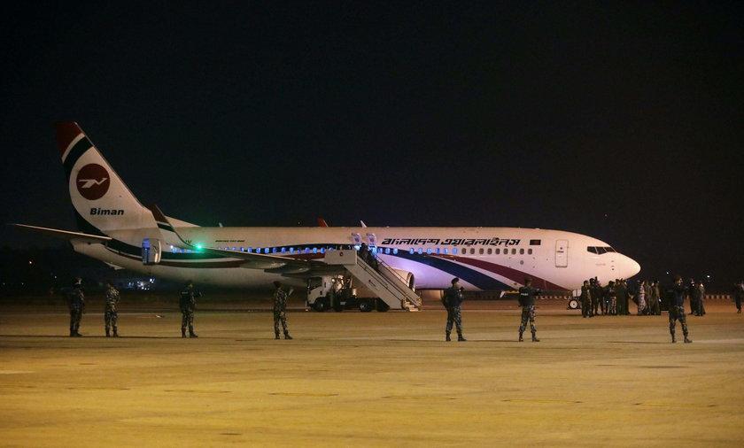Nieudana próba porwania samolotu z Bangladeszu do Dubaju