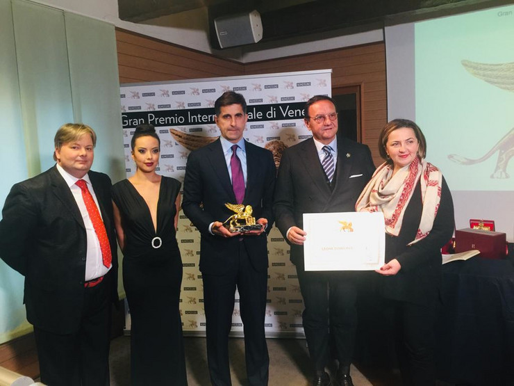 Nagrada za Aleksandra Vučića Venecija Zlatni lav za mir Promo