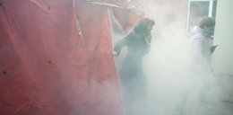 Strażacy narobili dymu