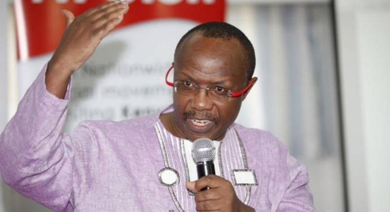 Drama as fiery government critic David Ndii is locked out of his widely-publicized event