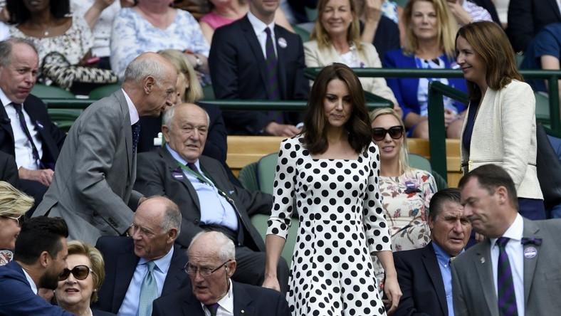 Małżonka księcia Williama pojawiła się ostatnio na trybunach Wimbledonu...