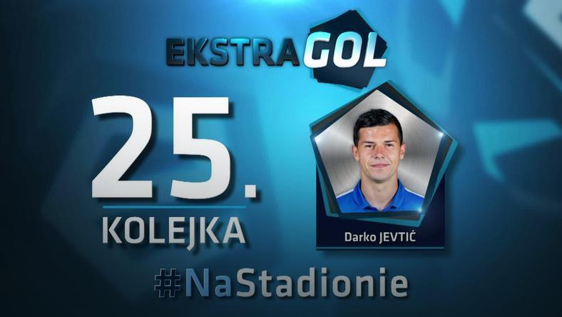 EkstraGol - Darko Jevtić zwycięzcą w 25. kolejce