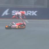 U Francuskoj PADALI SVI REDOM! Markez dva puta, jednom se vratio, drugi put je bilo previše, a istim putem išao JOŠ JEDAN VOZAČ! Mileru MotoGP trijumf u Le Manu /VIDEO/