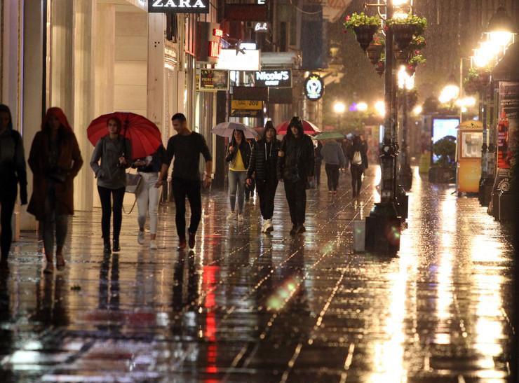 Kiša nevreme knez Mihajlova