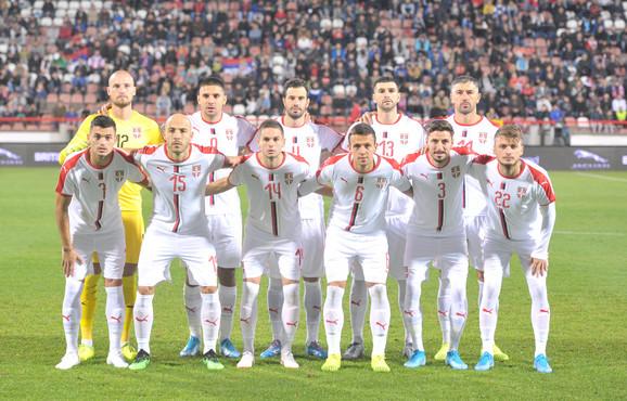 Fudbalska reprezentacija Srbije, Paragvaja, Fudbaleri Srbije