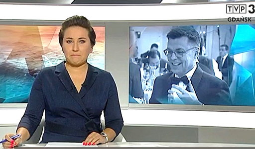 """Prowadząca """"Panoramę"""" nie wytrzymała, gdy mówiła o zmarłym dziennikarzu"""