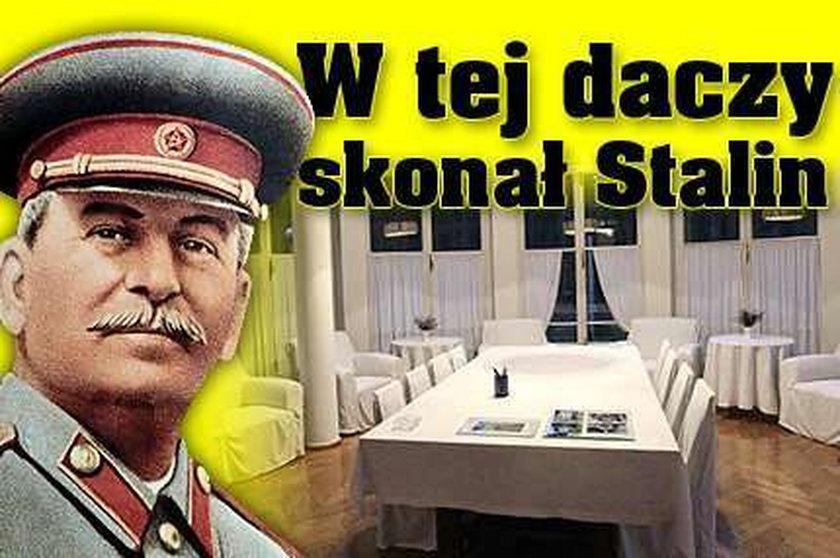 W tej daczy skonał Stalin. FOTY