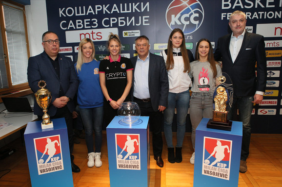 "Kapiteni ekipa na završnici Kupa ""Milan Ciga Vasojević"""