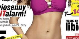 Chudsza o 14 kilo aktorka pręży biust