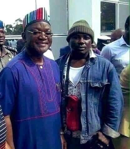 Gov Ortom of Benue (Left) and Gana (Right) looked like buddies in this undated photo