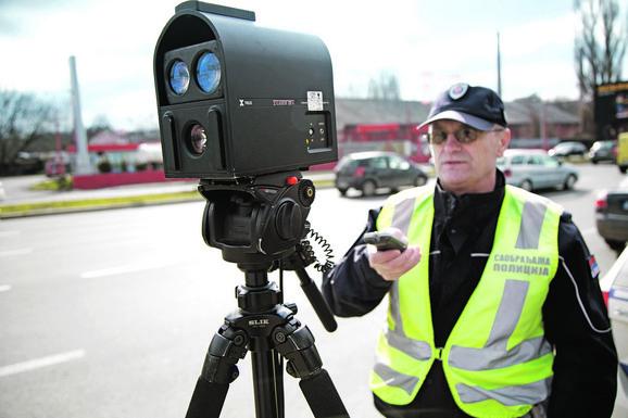 Do kraja nedelje policija će kontrolisati brzinu, ali i vožnju pod dejstvom alkohola