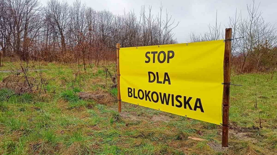 Kraków. Protest mieszkańców Rżąki