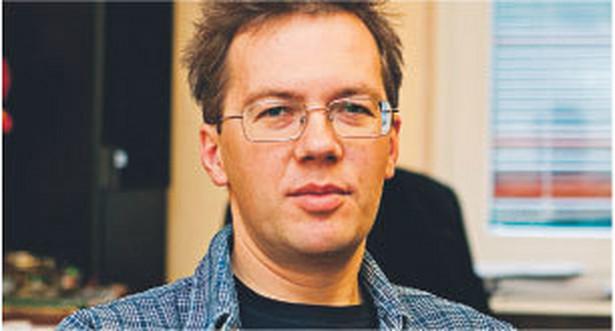 Bogusław Pluta, od 1997 roku dyrektor Związku Producentów Audio Video, członek Polskiego Towarzystwa Informatycznego Fot. Wojciech Górski