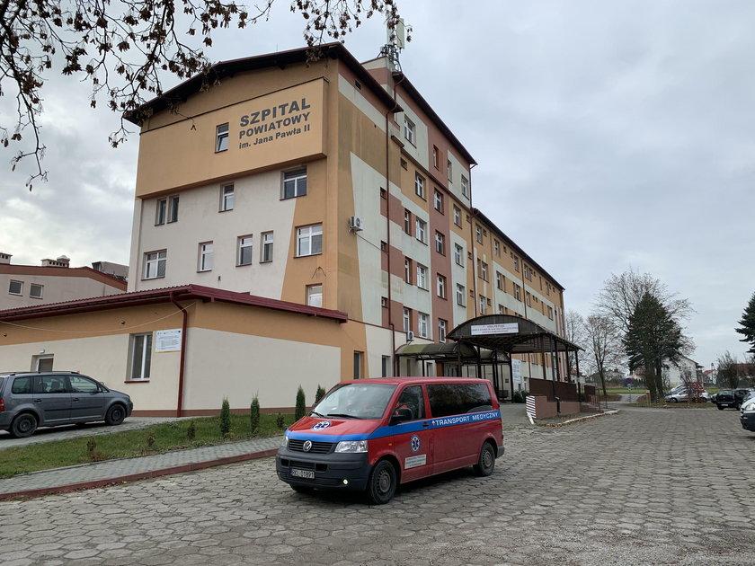 Szpital w Kolbuszowej.