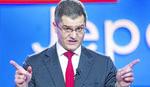 Jeremić: Nema pobede u prvom krugu, zato je Vučić nervozan