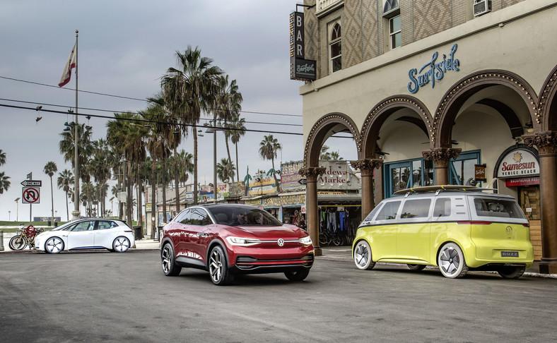 Elektryczna rodzina ID Volkswagena