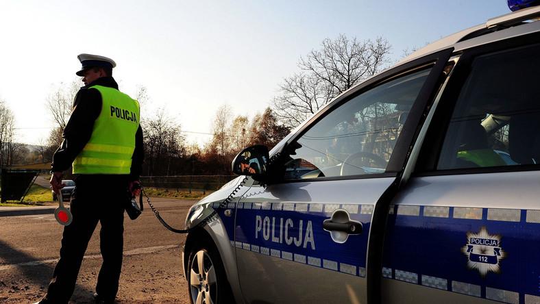 Tysiąc złotych za nadciśnienie policjanta