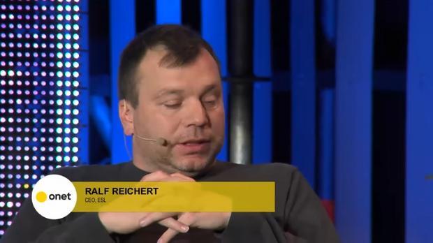 Ralf Reichert – prezes ESL