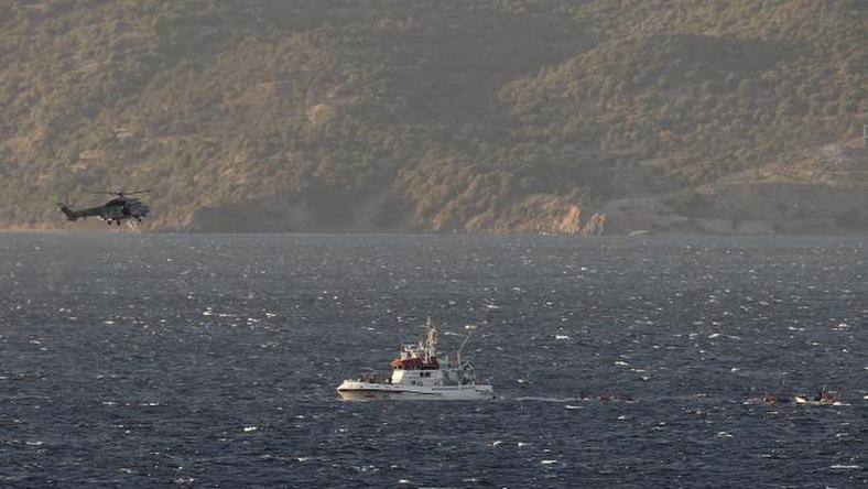 Greece searches for 38 migrants off Lesbos, four children drown