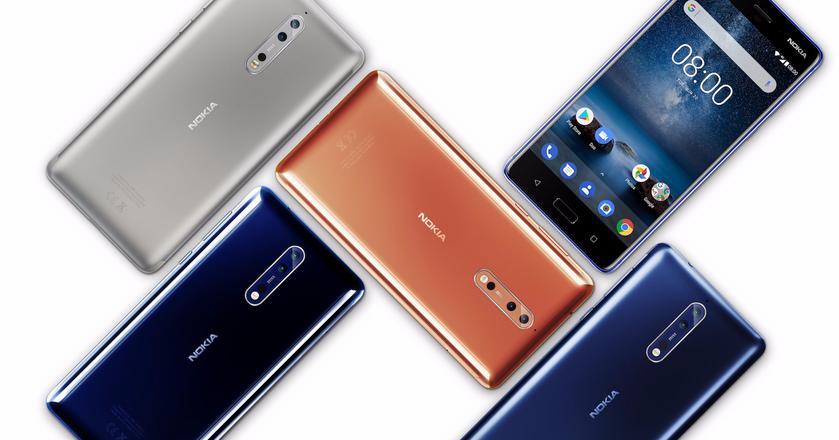 Nokia 8 to pierwszy smartfon z wyższej półki cenowej w ofercie firmy HMD, która próbuje wskrzesić dawną świetność tej marki