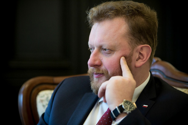 Łukasz Szumowski fot. Wojtek Górski
