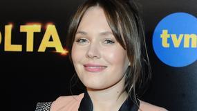 Magdalena Lamparska w ciąży i bez makijażu. Aktorka wygląda kwitnąco