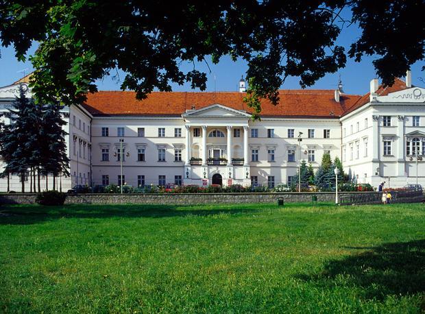 Kalisz, dawny pałac Arcybiskupów Gnieźnieńskich